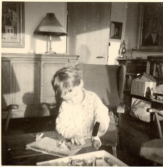 Autiobiografie kunst gezoem in de schaduw der platanen over foto s schilderijen en andere - Schilderij van gang ...