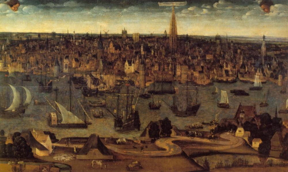 Geschiedenis - Kroniek van Antwerpen 1500 - 1600 (1/6)