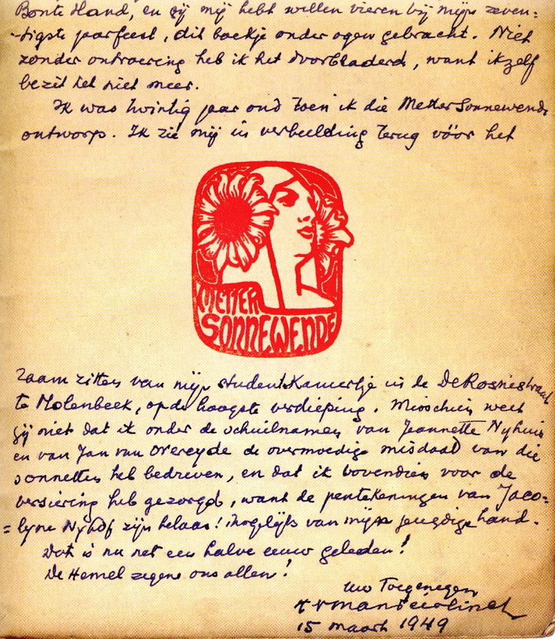 [Literatuur] Verstekelingen in het Letterenhuis. Over boeken en dedicaties. (1/2)